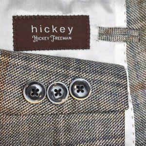 NEW 34S Men Boy's 18 Hickey Freeman Silk Wool COAT